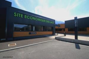Photographie du site économique des Lacs à Thyez
