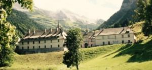 La Chartreuse du Reposoir, située sur la commune du Reposoir, dans la vallée de L'Arve (Faucigny) en Haute-Savoie. Crédits Photo B. Brassoud Fichier original