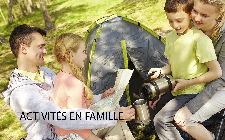 Nos activités en famille