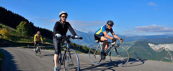 Escurssion vélo au col de Romme